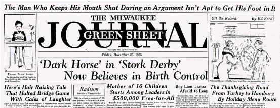 ??  ?? Above: The stork derby made news all over North Amer­ica. Right: Charles Vance Mil­lar, in­sti­ga­tor of the stork derby. Far right: The Carter fam­ily, en­trants in the derby. Be­low: The Na­gle fam­ily, with twelve chil­dren un­der the age of fif­teen.