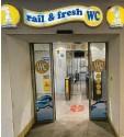 ?? Foto: Fridtjof Atterdal ?? Die Sanitäranlagen am Augsburger Hauptbahnhof schnitten bei einem Ran‰ king schlecht ab.