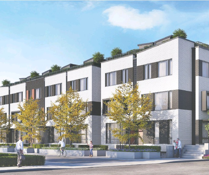 ??  ?? With retail-heavy Stockyards to the west, the lively Junction neighbourhood to the south and foodie-friendly Corso Italia just east, the thirtysomething pair considers Reunion Crossing a walkable cosmopolitan hub.