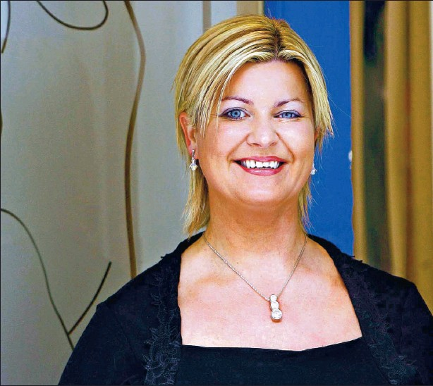 ?? Picture: Gordon Terris ?? GENEROUS MEASURE: Behind the story of Tina O'Docherty's Inch Loss Clinic operation is her recognition of a strong business opportunity.