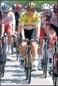 ??  ?? Tadej Pogacar, líder del Tour.