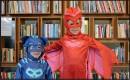 ??  ?? Purim superheroes