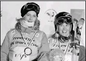 ?? Jean-Pierre Clatot, AFP-Getty Images ?? Wednesday's IOC ruling allowing half-pipe into the Sochi Olympics is huge for Canadians Rosalind Groenewoud, left, and Sarah Burke, who dominate the sport.