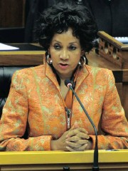 ?? Picture: GCIS ?? FIRM STAND: Minister of Human Settlement­s Lindiwe Sisulu wants Mduduzi Manana to be shown the door.