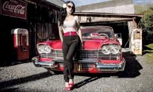 ?? Crédit: Milène Lacroix ?? La Plymouth Fury 1958 de M. Marcel Poulin, mieux connue sous le nom de Christine, attirera l'attention à coup sûr.