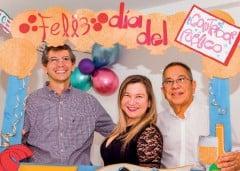 ??  ?? Alfredo Archilla, Tilcia Bayona y Alfonso Morales.