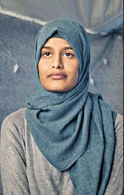 ??  ?? Stranded: Shamima Begum is living stateless in northern Syria