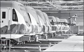 ?? ARCHIVO EL COMERCIO ?? Está previsto que la obra física del Metro de ■uito se entregue el 31 de marzo de 2021.