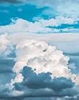 ?? FOTO: CODY SCHROEDER/UNSPLASH ?? Mitentscheidend fürs Klima: Wolken schirmen die Sonneneinstrahlung ab.