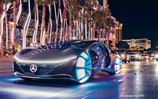 ??  ?? Mercedes-Benz Vision AVTR