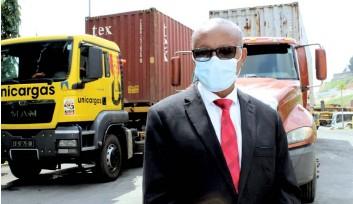 ?? DR ?? Os camiões com destino à província do Cuando Cubango levam 63 toneladas de produtos