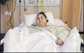 ?? HT ?? Egyptian Eman Ahmed weighed 504 kg when she came to Mumbai for a weigh loss surgery two months ago.