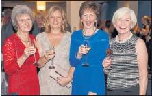 ??  ?? Left to right: Freda Burt, Maxine Nicholson, Liz Taylor and Janette Reid.