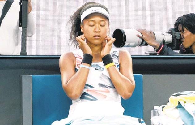 "?? NETFLIX ?? Naomi Osaka in the docuseries ""Naomi Osaka."""