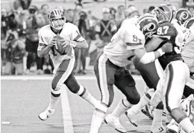 ?? JIM MONE, AP ?? Quar­ter­back Mark Ryp­ien led the Red­skins to a 37-24 vic­tory against the Bills in Su­per Bowl XXVI in Jan­uary 1992.