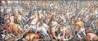 ??  ?? An Italian art expert claims this fresco conceals a long-lost Da Vinci.