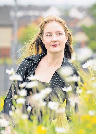 ??  ?? Victoria Williamson hopes her debut novel will break down barriers
