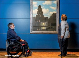 ??  ?? Musée Magritte.