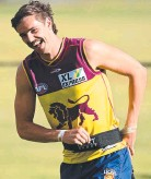 ??  ?? Lions recruit Joe Daniher shapes as a key figure for the club in 2021.