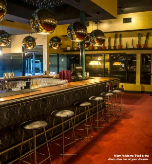 ??  ?? Miami's Mama Tried is the disco dive bar of your dreams.