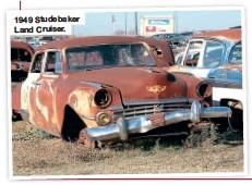 ??  ?? 1949 Studebaker Land Cruiser.