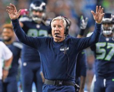 ?? JOE NICHOLSON, USA TODAY SPORTS ?? Coach Pete Carroll's Seahawks started 3-3 last year but finished the regular season 12-4 and reached the Super Bowl.