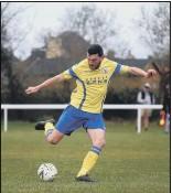 ?? Pic: Tom Phillips ?? ON TARGET Brad Stone scored for Locks Heath at Broughton