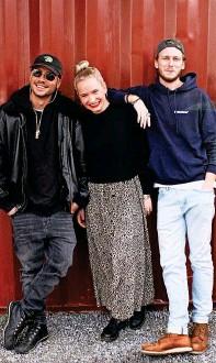 ?? MARCELLA CORTI ?? Freezy, Andrea und Moe.