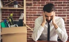 ?? DREAMSTIME ?? It can be more difficult to recover from job loss than from divorce or even the death of a spouse, studies suggest.