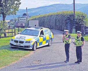 ??  ?? Slow down Dealing with reports of speeding can stretch police resources
