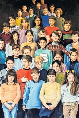 """??  ?? Deseci izvrsnih radova mladih umjetnika iz Zagreba, Osijeka, Rijeke i Širokog Brijega nudit će se u Galeriji Bačva po sistemu """"kupi i nosi"""""""