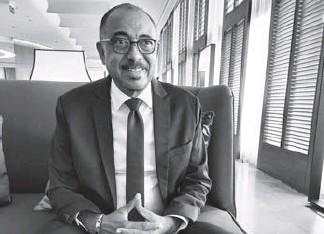 ??  ?? Le Dr Michel Hamal Sidibé