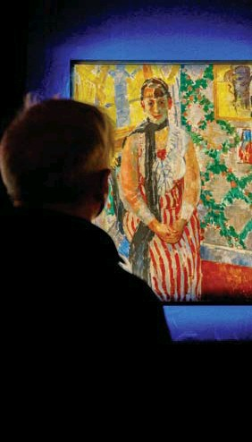 ??  ?? Het iconische portret van de muze van Rik Wouters.