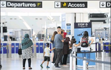 ?? Picture: Vikki Lince ?? The airports have been almost empty over recent months as all holiday plans are put on hold - but there's growing pent-up demand