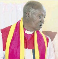 ?? / MARTIN OMBIMA ?? Arch­bishop Byrum Makokha