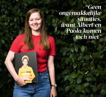 ?? FOTO JEROEN HANSELAER ?? Laura Dekkers maakte een prijswinnende thesis over het Koninklijk Paleis