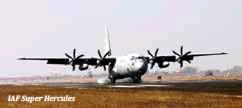 ??  ?? IAF Super Hercules