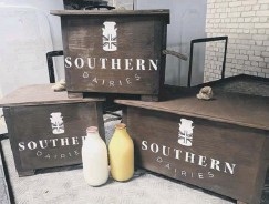 ??  ?? Southern Dairies milk, and other supplies, delivered to your door