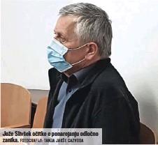 ?? FOTOGRAFIJI: TANJA JAKŠE GAZVODA ?? Jože Slivšek očitke o ponarejanju odločno zanika.