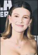 ??  ?? Millie Bobby Brown See Question 6