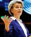 ??  ?? Leader Ursula von der Leyen, presidente della Commissione Ue
