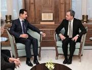 ??  ?? « Bachar Tour » Le 8 janvier 2017, le président syrien reçoit une délégation de députés français, parmi lesquels Thierry Mariani, habitué de Damas.