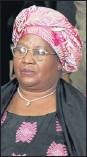??  ?? Joyce Banda