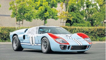 ??  ?? You can now own a replica of a GT40 from the movie