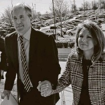 ?? Jae S. Lee / Associated Press file photo ?? Attorney General Ken Paxton and his wife, state Sen. Angela Paxton, left the state to meet with Utah's attorney general.
