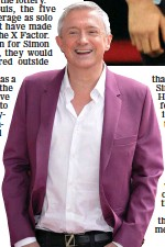 ??  ?? taLent: Louis Walsh was at Niall Horan's Dublin audition for X Factor