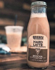 ?? TWELVE5 BEVERAGE CO. ?? Brown Bomber Hard Latte is a latte with a boozy kick.