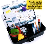 ??  ?? Argos is reporting huge sales of kits aimed at beginners and junior anglers.