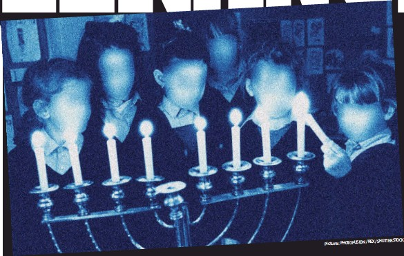 ?? Picture: PHOTOFUSION /REX/SHUTTERSTOCK ?? Traditional: Pupils at a Jewish school in North London