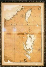 ??  ?? One of the earliest maps of Scarborough Shoal.
